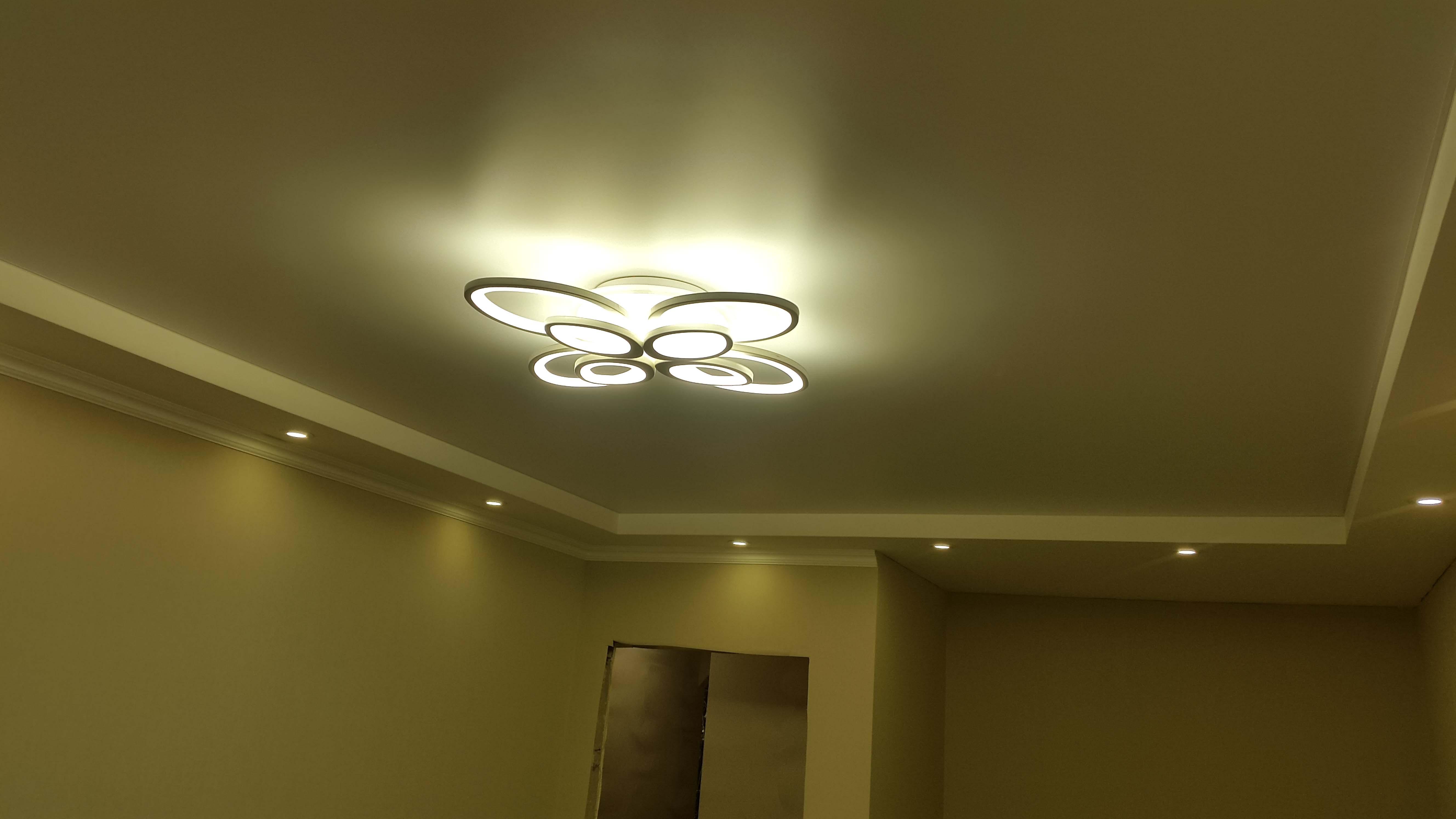 освещение комната